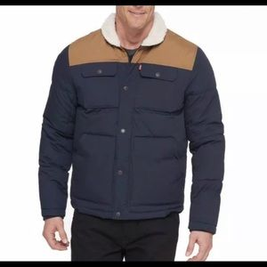 Levi's Men's Quilted WorkwearJacket